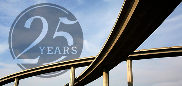 Our 25th year, a Significant Milestone in our History